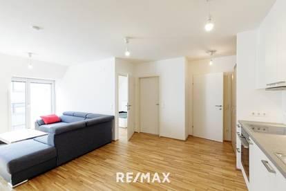 Moderne 2 Zimmer Neubauwohnung mit Balkon, 100m vom Reumannplatz