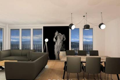 ERSTBEZUG - Exklusives Eck-Penthouse mit Aussichtsterrasse