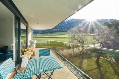 Luxuriöse Dachgeschoßwohnung mitten im Grünen