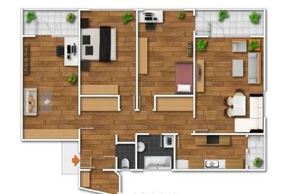 WG geeignete, sanierte 4-Zimmer-Wohnung mit traumhaften Ausblick zu vermieten