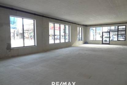 Moderne und in absoluter Frequenzlage gelegene Neubau-Geschäftsfläche mit ca. 318m² zu mieten