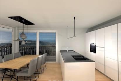 ERSTBEZUG - Exklusives Eck-Penthouse mit Dachgarten