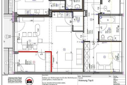 provisionsfreie GARTENWOHNUNG Spillern 73,93 m² - mit Küche