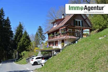 Heimeliges Einfamilienhaus mit Garten und Einliegerwohnung in idyllischer Lage in Bildstein