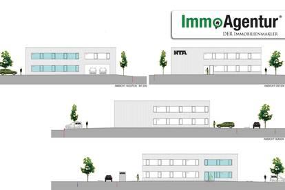Attraktive Gewerbefläche im neuen Gewerbegebiet Römergrund (direkt an A14) in Rankweil, Neubau