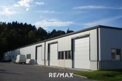 330 m² Lagerhalle