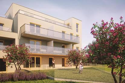 Baubeginn! T7_gut aufgeteilte, 3 Zimmer Wohnung mit Balkon und Terrasse