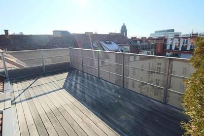 Dachgeschoßwohnung mit toller Terrasse in der City! Pestalozzi/Wielandgasse! Unbefristet!