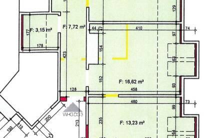 Günstige 3-Zimmer-Dachgeschoßwohnung, Nähe Raiffeisen Sporthalle, mit ca. 69 m² sucht neue Mieter...