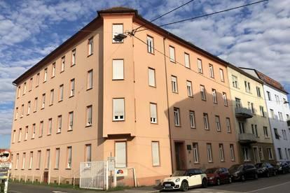 Günstige 2-Zimmer-Dachgeschoßwohnung, Nähe Raiffeisen Sporthalle, mit ca. 61 m² sucht neue Mieter...