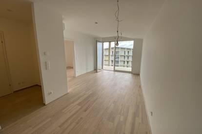 PROVISIONSFREI! ERSTBEZUG 2 Zimmerwohnung mit Balkon in der SMARTCITY!