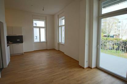 Generalsanierte 3 Zimmer Altbauwohnung in Straßgang mit 10 m² Balkon!