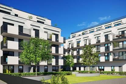 Neubauprojekt - 2 Zimmerwohnung mit großem Südbalkon - provisionsfrei