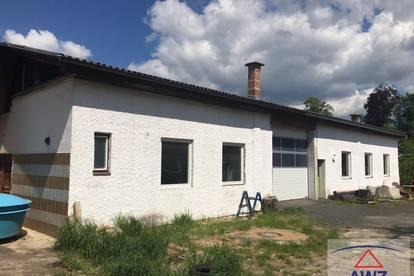 Lagerhalle, Werkstätte mitten in Kirchberg am Wald (Gmünd)!