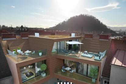 Spektakuläres Apartment im HERZEN GEIDORFS mit unglaublichem Ausblick!