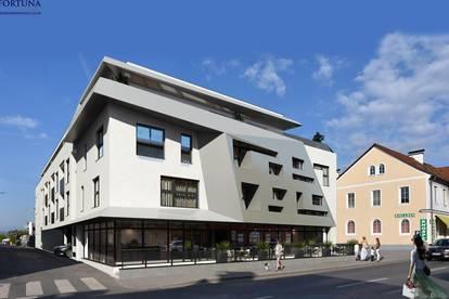 Perfekt gelegene Geschäfts- oder Ordinationsfläche mitten in St. Peter +++ 127 m² / 16 m² Außenfläche / 4,7 m² zusätzlicher Lagerraum +++ TG-Parkmöglichkeit +++ 400 m zur Straßenbahn!