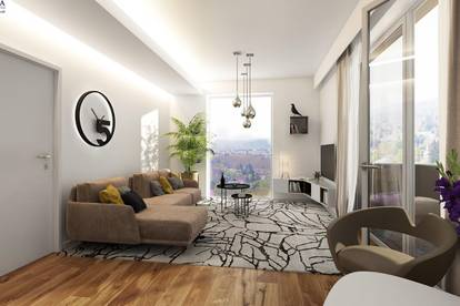 Hill Resorts - Exklusive Mietwohnungen in 8020 Graz/Eggenberg!