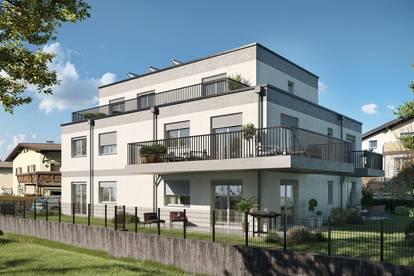 ENTSPANNTES VORSTADTLEBEN - 3-Zimmer-Penthouse mit Terrasse