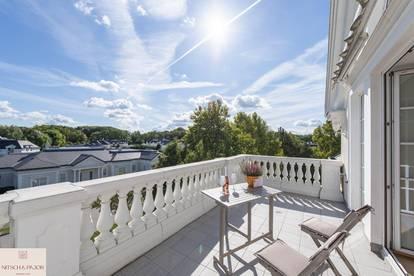 Raus aus der Stadt und grünes Flair im amerikanischen Stil genießen! Exklusive Dachterrassenwohnung - Wohnpark Fontana