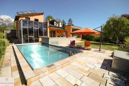 Ruheoase mit Luxusfaktor und Nirosta Pool - Tulfes