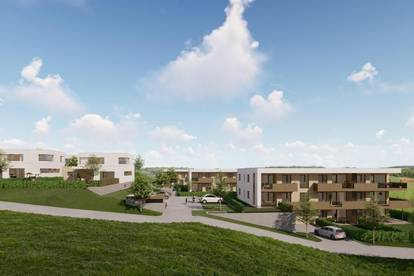 Wohnen am Südhang I 29 Eigentumswohnung (53 m² - 103 m²) ab € 211.100,-- sowie 2 Einfamilienhäuser (je 127 m²)