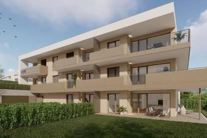 Wohnen am Südhang I 61m² Wohnung inkl. 1 TG-Stellplatz