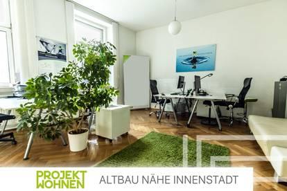 Gepflegter Altbau in Top-Innenstadtlage / Zwei Balkone / Vielseitige Nutzungsmöglichkeiten / Fernwärme-Heizung