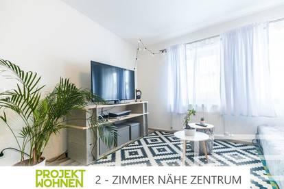 Zwei-Zimmer-Wohnung im Zentrum der Stadt / Spitzenlage im ruhigen Innenhof / Lichterfüllte Räumlichkeiten / Ab November bezugsfähig