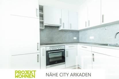 Fantastische Aufteilung - direkt im Zentrum / Moderne Einbau-Küche / Ab sofort beziehbar !