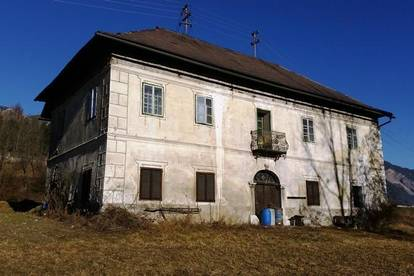 NEUER PREIS! Gemeinde Arnoldstein: Historisches Herrenhaus!