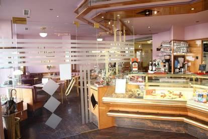 Komplett eingerichtetes Cafe im Welser Zentrum - NEU zu vergeben !
