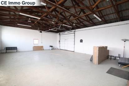 Freifläche mit Büro und Halle zu vermieten - Ideal als Autoabstellplatz