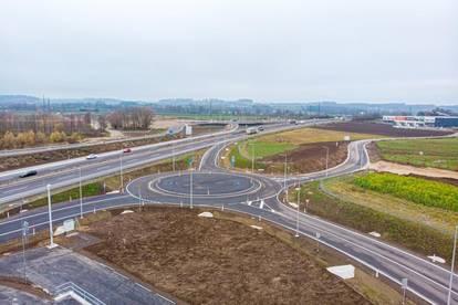 Betriebsbaugebiet in Wels-Wimpassing, direkt an der A8 - Ausfahrt Wirtschaftspark - sofort verfügbar!!