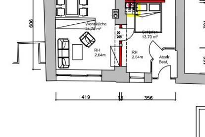 in Wohnung umwandeln oder als Geschäftsfläche belassen