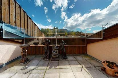 5-Zimmer Wohnung in sehr schöner Ruhelage mit 2 Terrassen zu verkaufen!