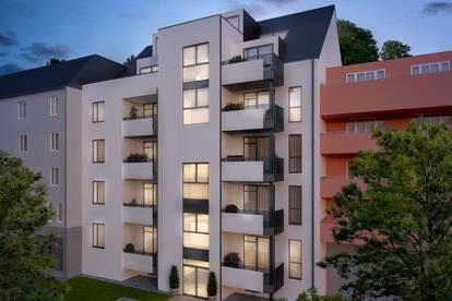 Erstbezug   Moderne 2 Zimmerwohnung mit Balkon in Linz!!