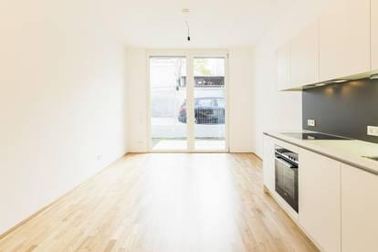 SIEBZEHN - moderne 1-Zimmer Wohnung inkl. südseitigem Gartenanteil