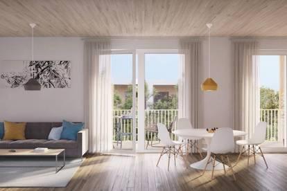 Ideal für Anleger - moderne, hochwertige 2 Zimmer-Wohnung inkl. Balkon im grünen POST QUADRAT