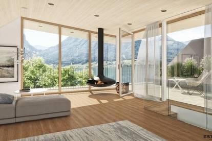 Sonniges Feriendomizil mit eigenem Seezugang - 4 Zimmer Wohnung