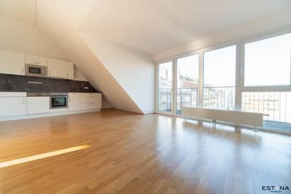Helles Penthouse mit Terrasse und zwei Bädern am Elterleinplatz - Lift direkt in die Wohnung