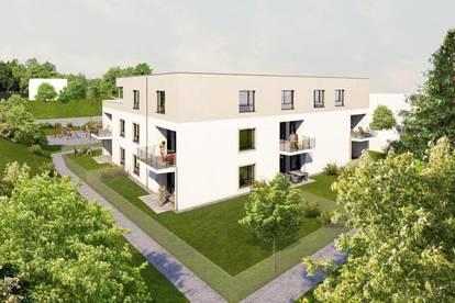 Projekt RIED² - Top B3 74,26m² Gartenwohnung - 22 neue Eigentumswohnungen am Stadtrand von Ried im Innkreis