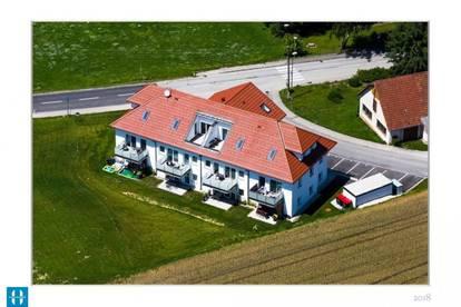 Gemütliche, neuwertige 64,37m² Wohnung mit Gartennutzung in Michaelnbach zu vermieten