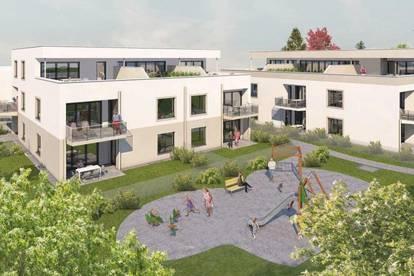 Projekt RIED² - Top A2 78,84m² Gartenwohnung - 22 neue Eigentumswohnungen am Stadtrand von Ried im Innkreis
