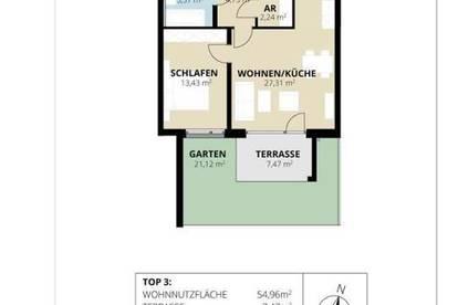 Sonnige 2-Raum Souterrain Gartenwohnung