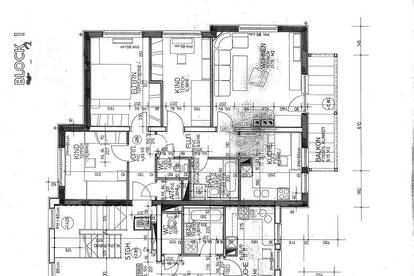 Zentral gelegene 4-Raum Wohnung in Saalfelden