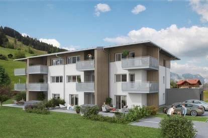 Leistbare 3-Raum Terrassen-Neubauwohnung in Dorfgastein