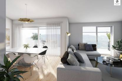 Kleines, feines Penthouse mit großzügiger Terrasse - Top 6 Haus A