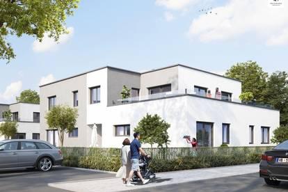 Penthouse-Wohnung mit Traunsteinblick