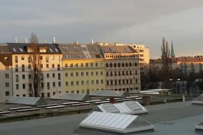 U 6 Jägerstraße neu sanierte 1 Zimmerwohnung mit Balkon OHNE PROVISION und unbefristet zu vermieten