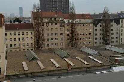 U 6 Jägerstraße ~ 2 Zimmerwohnung im DG mit 2 Terrassen OHNE PROVISION und unbefristet zu vermieten